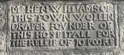 Stone commemorating Henry Williams