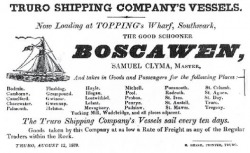 Boscawen Advert